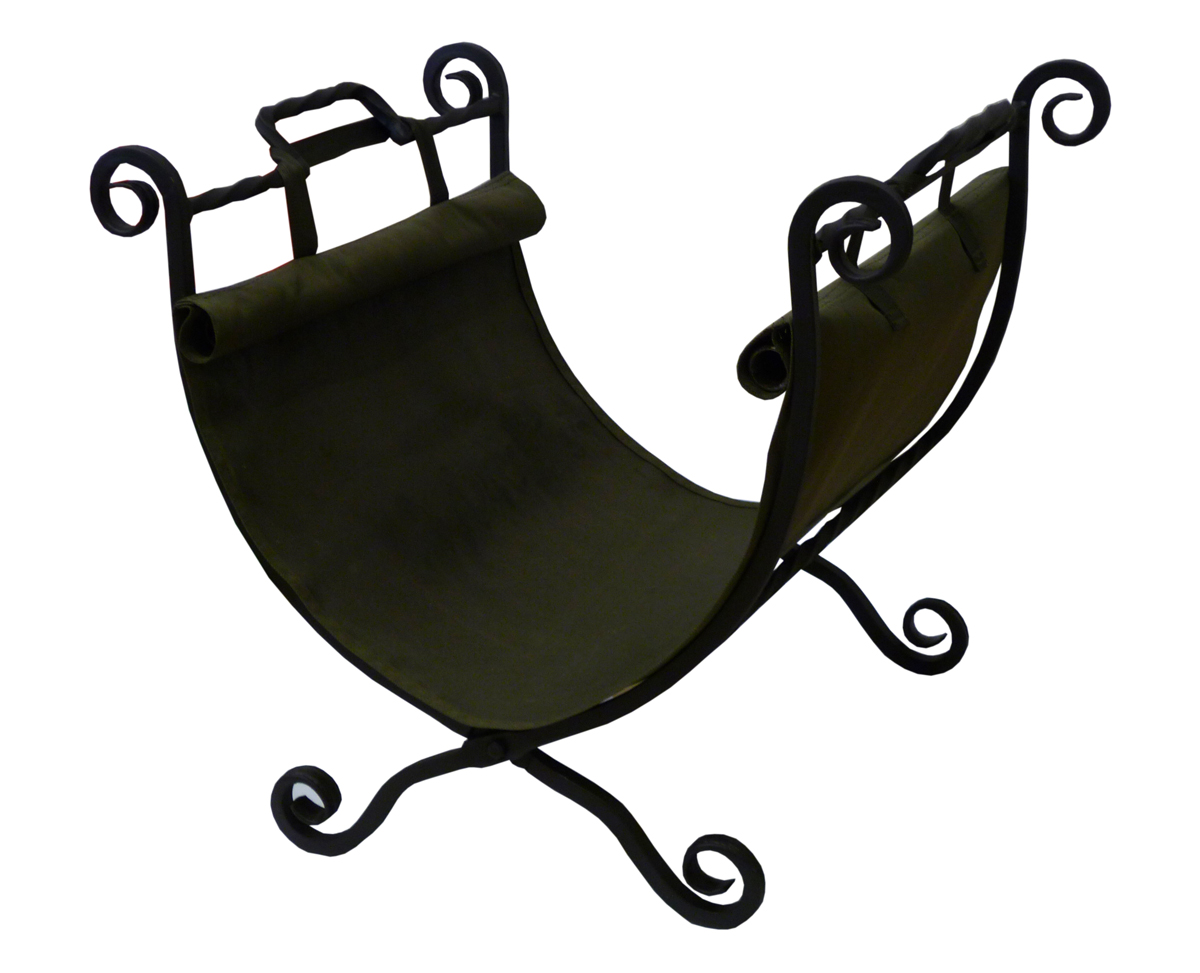 Дровница складная Grillkoff КлассикаК-250.00.000Данная дровница имеет привычную форму, кроме того она удобно складывается и имеет прочную сумку-переноску для дров.Дровница Классика не только украсит интерьер вашего дома, но и станет отличным подарком соседям или друзьям.Выполнена методом ковки из квадратного прута толщиной 12 мм и покрыта высокотемпературной краской церта.