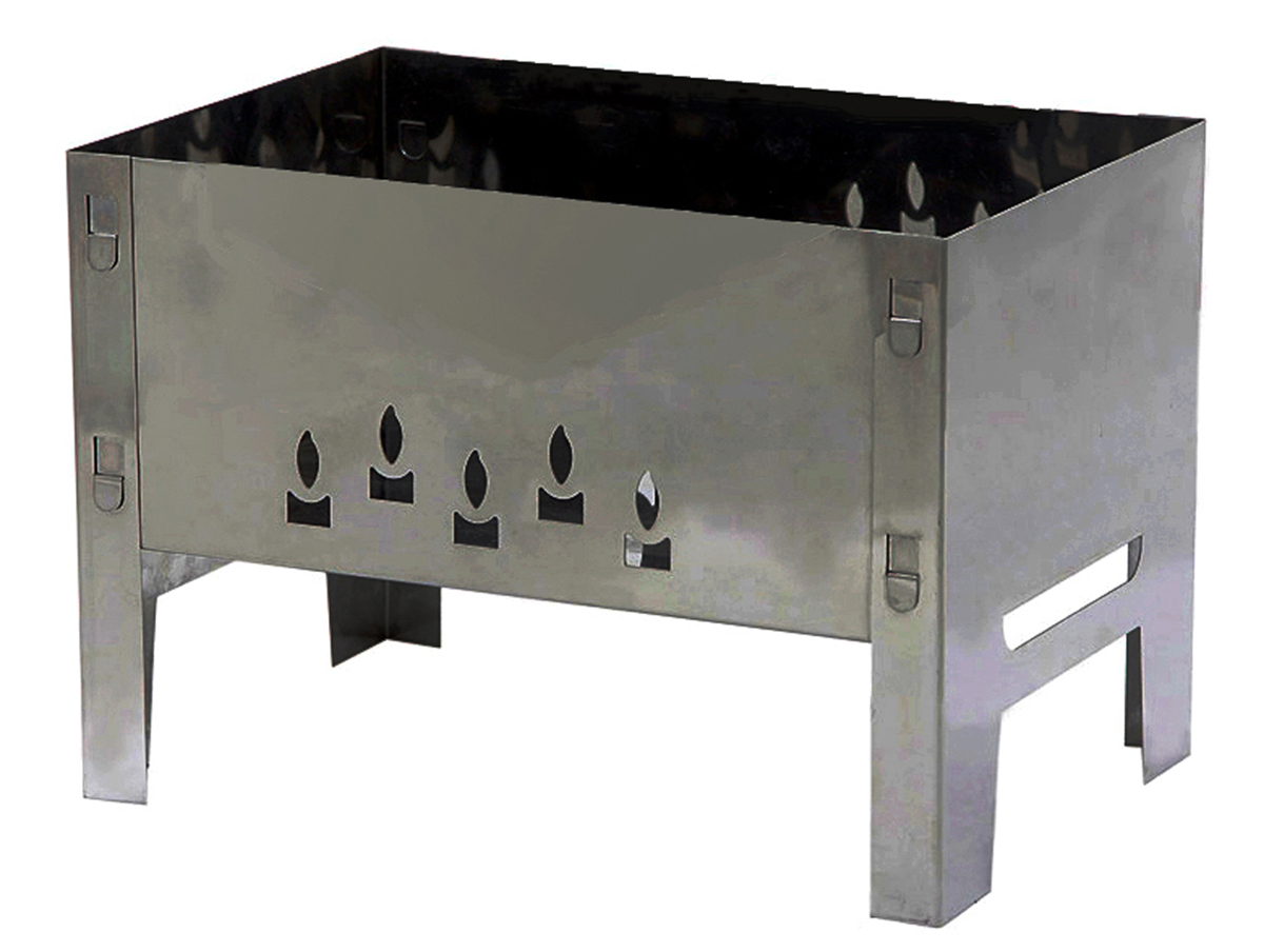 Мангал Grillkoff Восток, с 4 шампурами, 35 х 35 х 25 смХот ШейперсМангал Восток без шампуров.Мангал без усилий собирается для применения.Конструкция позволяет с комфортом готовить на мангале.Материал, из которого изготовлен мангал - сталь.