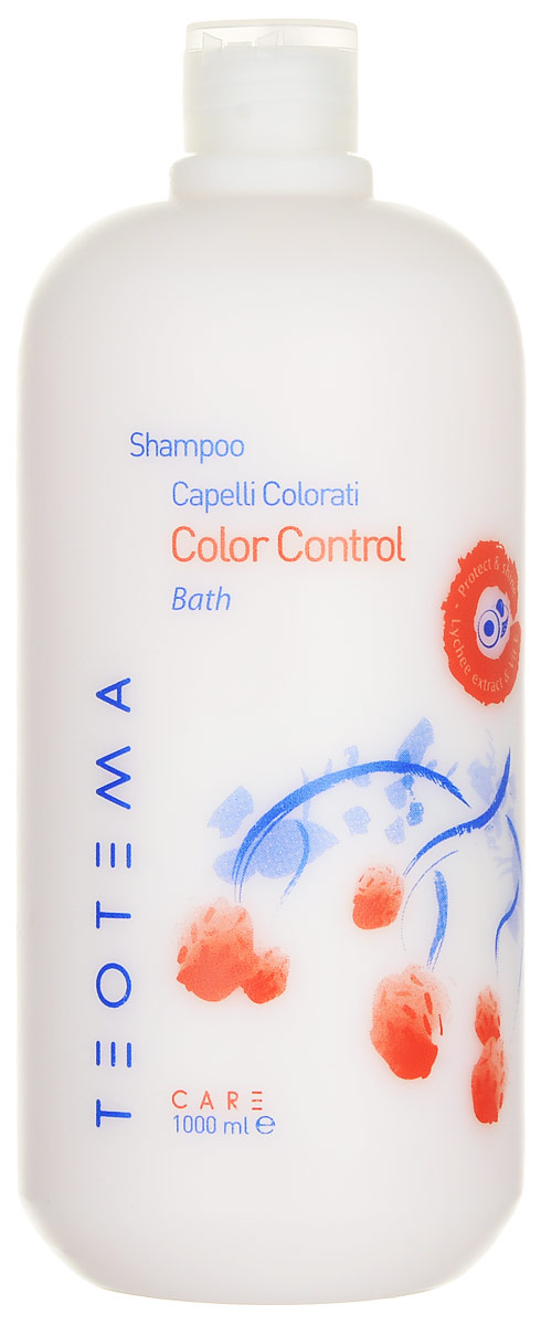 Teotema Шампунь для окрашенных волос 1000 мл34316AШампунь с питательной формулой разработан для обесцвеченных, поврежденных или окрашенных волос. Мягко очищает, обеспечивает красоту и однотонность цвета волос, делая их сияющими и здоровыми. Формула с экстрактом голубики и витаминов Е сохраняет цвет волос и защищает их. Важнейшие составляющие: экстракт голубики, воздействуя на корни, стимулирует рост волос; витамин Е оказывает защитное и антиоксидантное воздействие; альфа-тосоверил-ацетат – насыщает волосы, останавливает шелушение кожи головы, успокаивает, снимает воспаление.