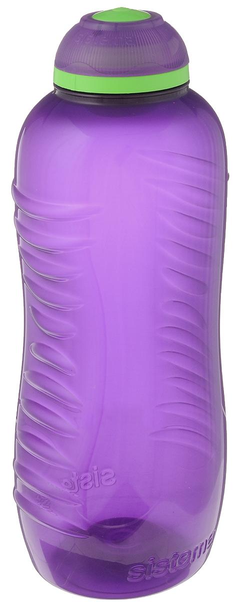 Бутылка для воды Sistema Twist n Sip, цвет: фиолетовый, 460 млcontigo0202Бутылка для воды Sistema Twist n Sip изготовлена из прочного пищевого пластика без содержания фенола и других вредных примесей. Рельефная поверхность бутылки со специальными выемками для удобного хвата. Бутылка имеет удобную запатентованную систему крышки Twist n Sip, которая предотвращает выливание жидкости и в то же время позволяет удобно пить напитки. С такой бутылкой Вы сможете где угодно насладиться Вашими любимыми напитками. Высота бутылки: 16 см.