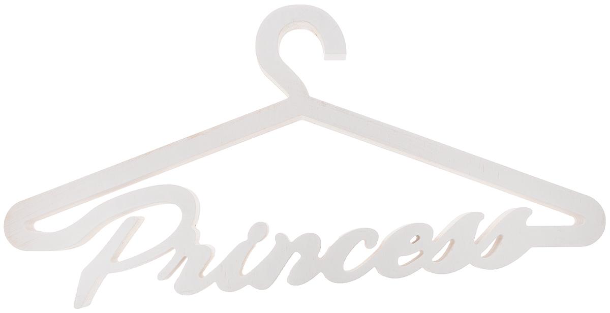 Вешалка для одежды Magellanno Princess, декоративная, цвет: белый, 46 х 22 см98299571Декоративная вешалка для одежды Magellanno Princess, выполненная из фанеры, идеально подойдет к интерьерам в стиле лофт, прованс, шебби-шик, тем самым украсив любую комнату в вашем доме.Именно такие уютные и приятные мелочи позволяют называть пространство, ограниченное четырьмя стенами, домом.Размер вешалки: 46 х 22 см.Толщина вешалки: 1,8 см.
