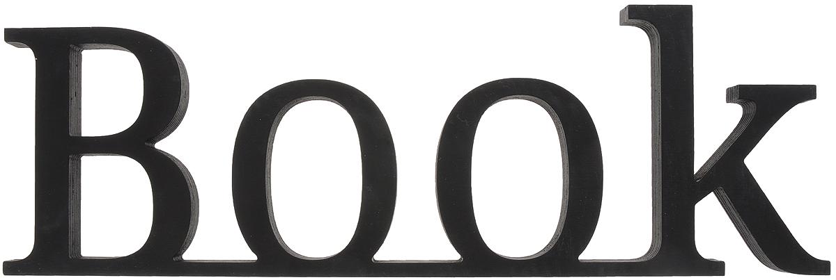 Табличка декоративная Magellanno Book2, цвет: черный, 48 х 16 смTHN132NДекоративная табличка Magellanno Book2,выполненная из фанеры, идеально подойдет кинтерьерам в стиле лофт, прованс, шебби-шик, тем самымукрасив любую комнату в вашем доме.Именно такие уютные и приятные мелочи позволяют называтьпространство, ограниченное четырьмя стенами, домом.Размер таблички: 48 х 16 см.Толщина таблички: 1,8 см.