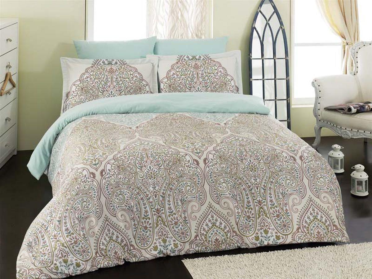 Комплект белья Karna Emilya, 2-спальный, наволочки 50х705со5106Постельное белье Карна - истинный подарок от великих мастеров, знающих свое дело. Это красота и роскошь. Это стиль и уют в спальне. Karna - это постельное белье для ценителей красоты и удобства.