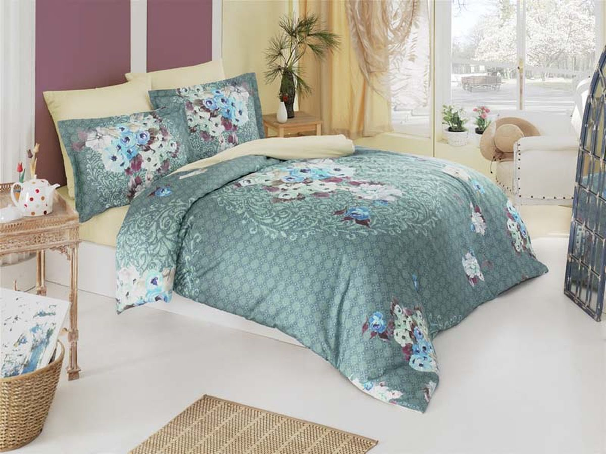 Комплект белья Karna Tivol, 2-спальный, наволочки 50х70702212Постельное белье Карна - истинный подарок от великих мастеров, знающих свое дело. Это красота и роскошь. Это стиль и уют в спальне. Karna - это постельное белье для ценителей красоты и удобства.