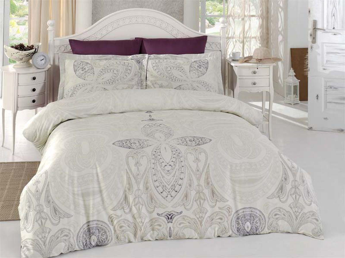 Комплект белья Karna Volirena, 2-спальный, наволочки 50х70B155-3Постельное белье Карна - истинный подарок от великих мастеров, знающих свое дело. Это красота и роскошь. Это стиль и уют в спальне. Karna - это постельное белье для ценителей красоты и удобства.
