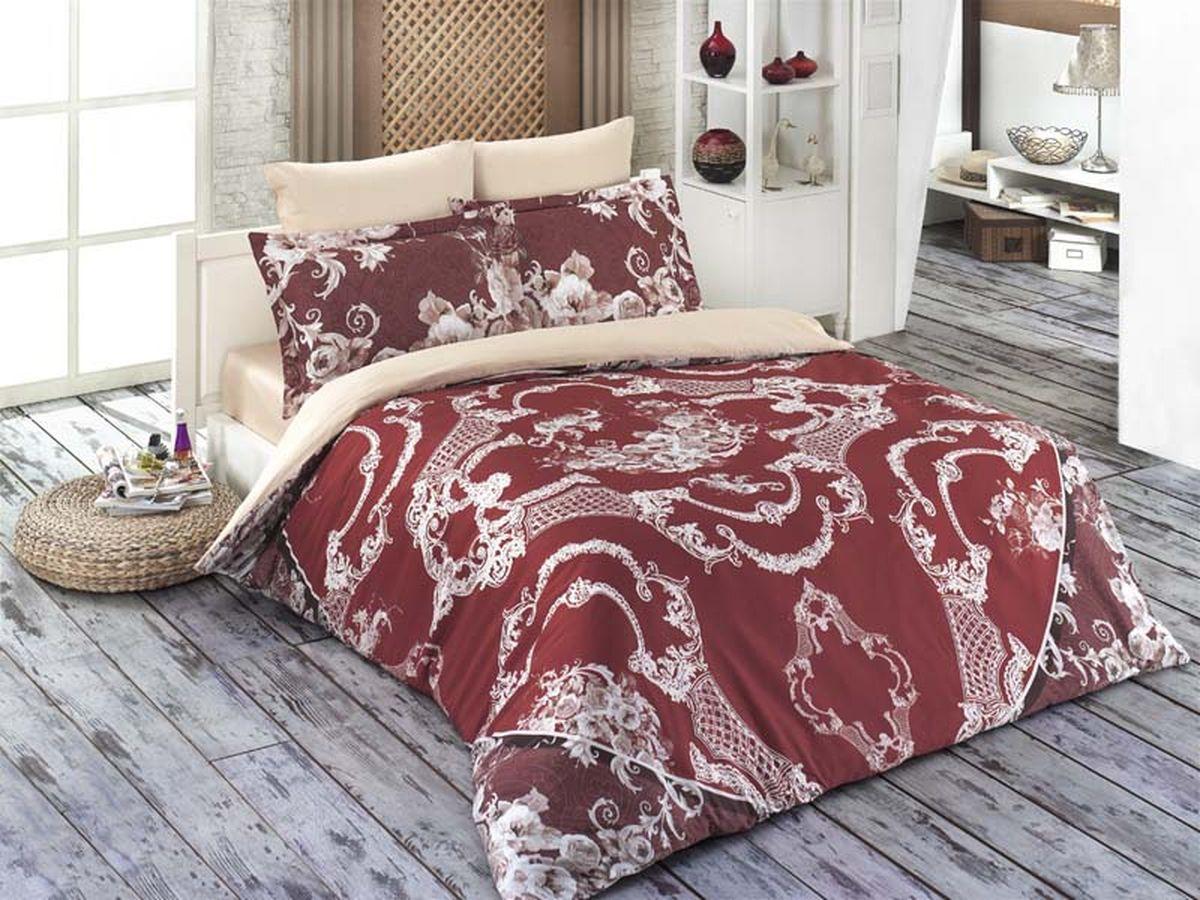 Комплект белья Karna Varon, 1,5-спальный, наволочки 50х70701929Постельное белье Карна - истинный подарок от великих мастеров, знающих свое дело. Это красота и роскошь. Это стиль и уют в спальне. Karna - это постельное белье для ценителей красоты и удобства.