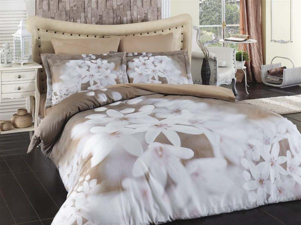 Комплект белья Karna Bahar, семейный, наволочки 50х70CLP446Постельное белье Карна - истинный подарок от великих мастеров, знающих свое дело. Это красота и роскошь. Это стиль и уют в спальне. Karna - это постельное белье для ценителей красоты и удобства.