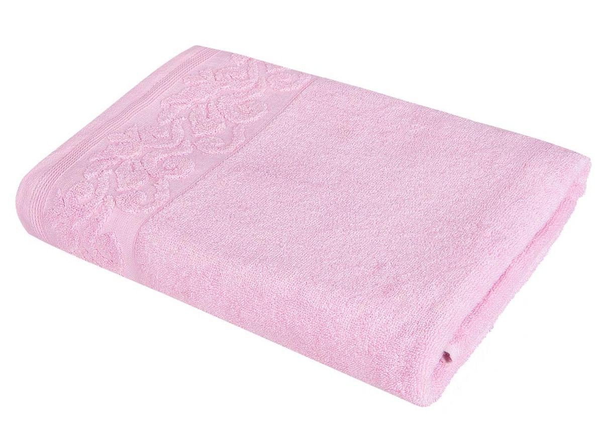 Полотенце Soavita Белла, цвет: розовый, 48 х 90 смУзТ-ПМ-114-08-06кМахровое полотенце Soavita Белла выполнено из хлопка. Полотенца используются для протирки различных поверхностей, также широко применяются в быту.Перед использованием постирать при температуре не выше 40 градусов.Размер полотенца: 48 х 90 см.