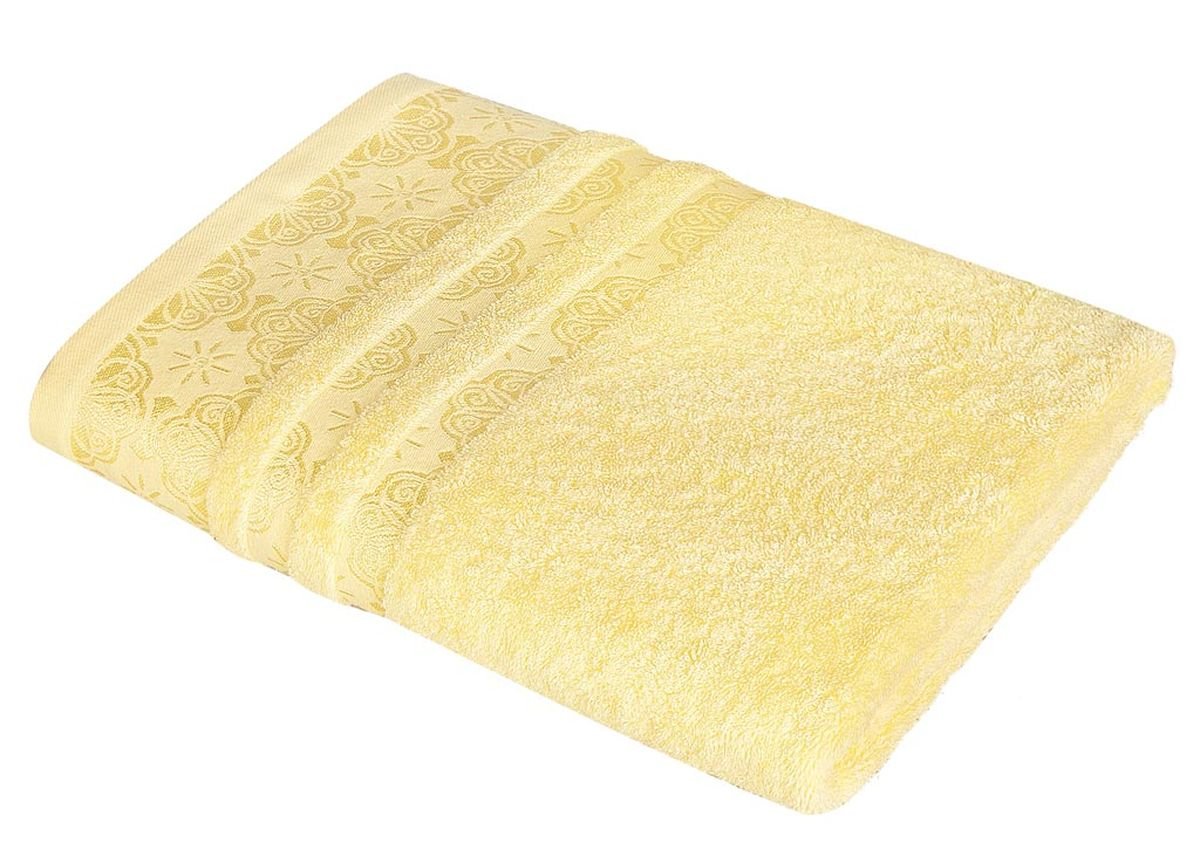 Полотенце Soavita Орнамент, цвет: желтый, 48 х 90 см86284Махровое полотенце Soavita Орнамент выполнено из хлопка. Полотенца используются для протирки различных поверхностей, также широко применяются в быту.Перед использованием постирать при температуре не выше 40 градусов.Размер полотенца: 48 х 90 см.