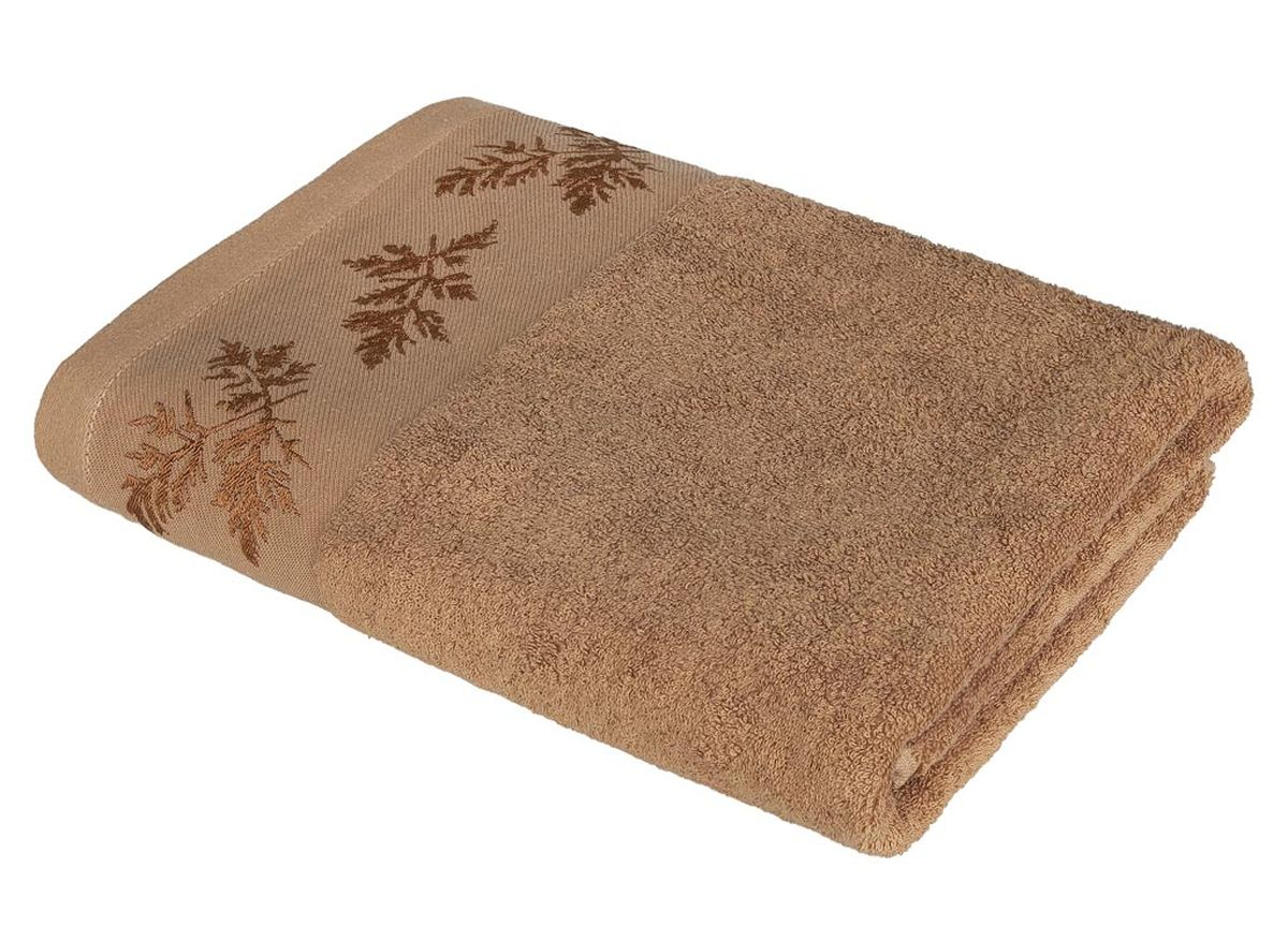 Полотенце Soavita Катрин, цвет: коричневый, 68 х 135 см531-105Махровое полотенце Soavita Катрин выполнено из хлопка. Полотенца используются для протирки различных поверхностей, также широко применяются в быту.Перед использованием постирать при температуре не выше 40 градусов.Размер полотенца: 68 х 135 см.