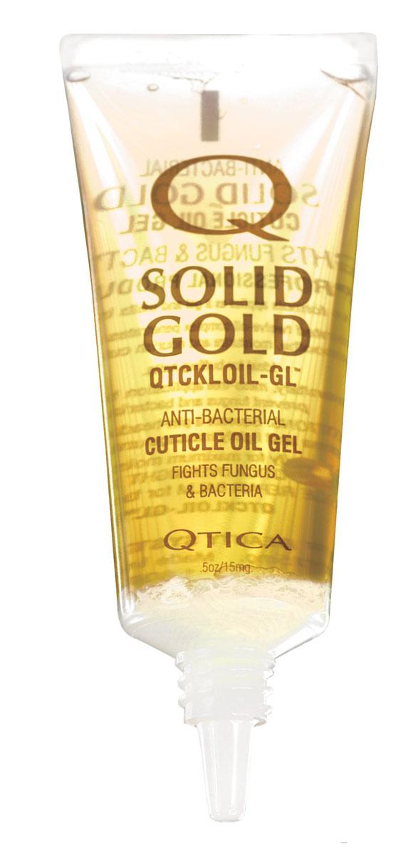 Zoya-Qtica Гель-масло для кутикулы Qtica Solid Gold 14 гр72523WDКлючевое свойство: Гель-масло для ногтей и кутикулы обладает противогрибковыми, антибактериальными и противовирусными свойствамиПреимущества: Смягчает кутикулу, одновременно предотвращая инфицирование кутикулы и ногтевой пластины грибком и бактериями. Уникальная гелевая основа и удобный аппликатор с наконечником обеспечивают удобное и гигиеничное использование.ИнгредиентыМасло рисовых отрубей, миндальное масло, масло жожоба, масло мандарина, мятное масло и масло лаванды.