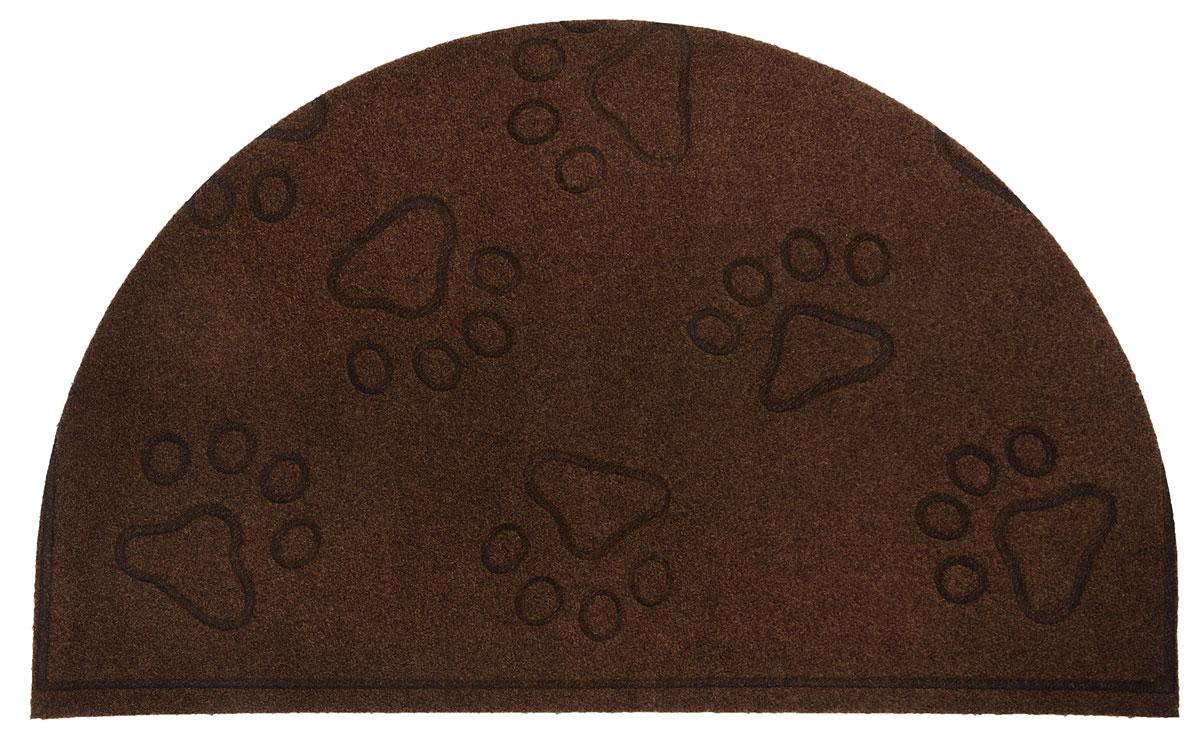Коврик придверный EFCO Оскар. Лапы, цвет: коричневый,65 х 40 см531-105Оригинальный придверный коврик EFCO Оскар. Лапы надежно защитит помещение от уличной пыли и грязи. Изделие выполнено из 100% полипропилена, основа - латекс. Такой коврик сохранит привлекательный внешний вид на долгое время, а благодаря латексной основе, он легко чистится и моется.