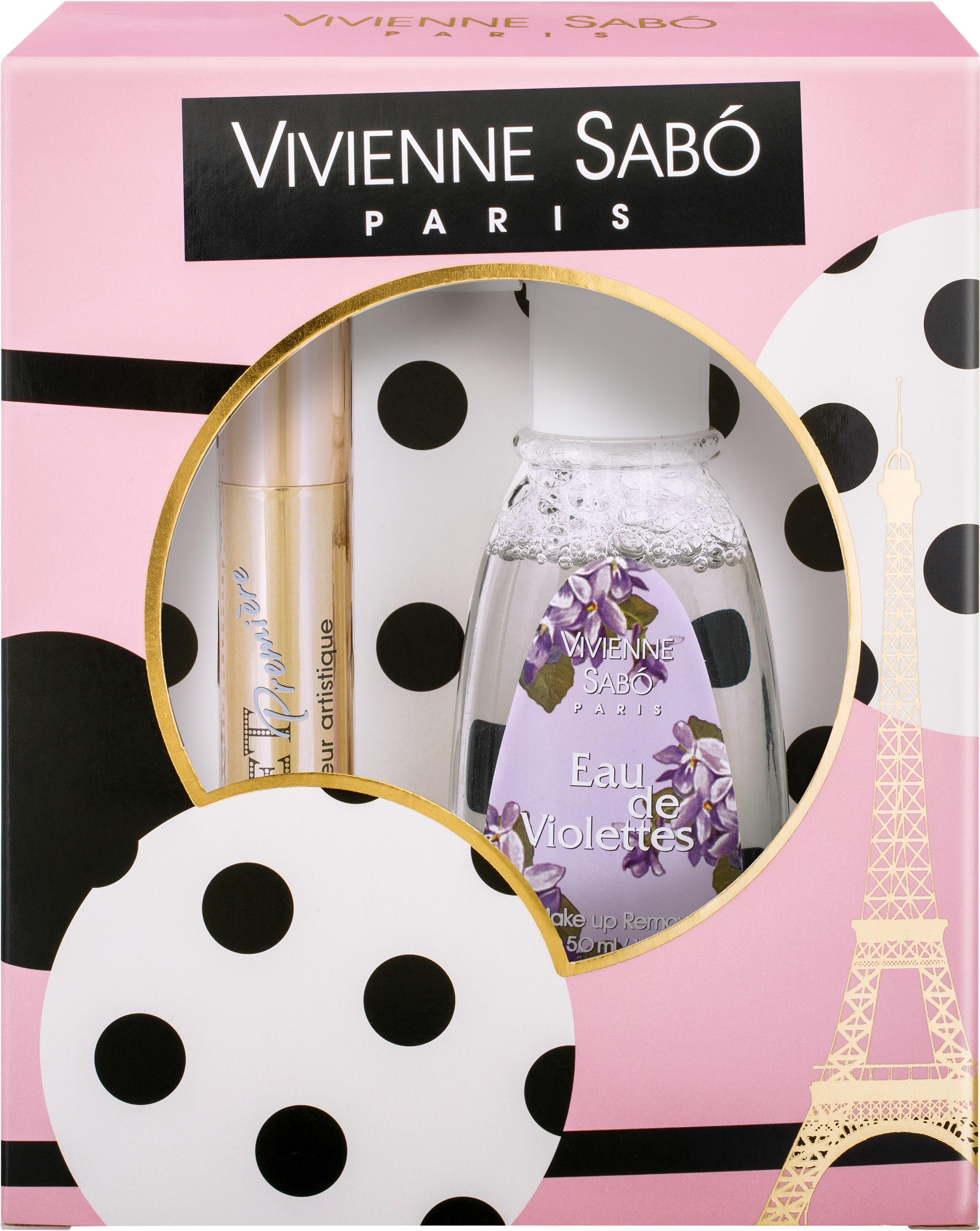 Vivienne Sabo Подарочный набор Тушь Cabaret premiere» т. 01 и Жидкость для снятия макияжа vivienne sabo тушь для ресниц cabaret