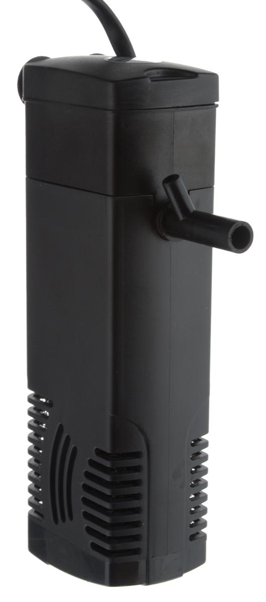 Фильтр для аквариума Barbus WP-280F, внутренний, с флейтой, 300 л/ч, 3 Вт помпа для аквариума barbus led 088 водяная с индикаторами led 800 л ч 15 вт