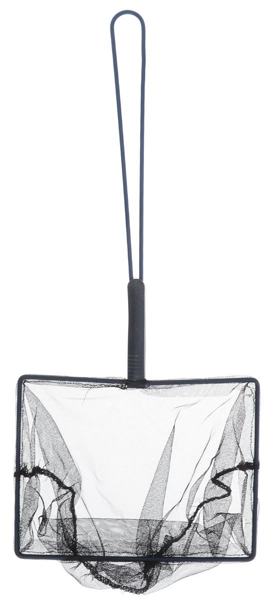 Сачок аквариумный JBL Fangnetz Premium, крупноячеистый, 20 х 15 см0120710Сачок JBL Fangnetz Premium предназначен для легкого извлечения рыб или остатков корма из аквариума. Изделие выполнено из металла со специальным пластиковым покрытием. Сетка изготовлена из износоустойчивой нейлоновой нити. Такой сачок безопасен для рыб, устойчив к коррозии и долговечен. Можно использовать в пресной и морской воде. Размер сачка: 20 х 15 см. Длина ручки: 30 см.