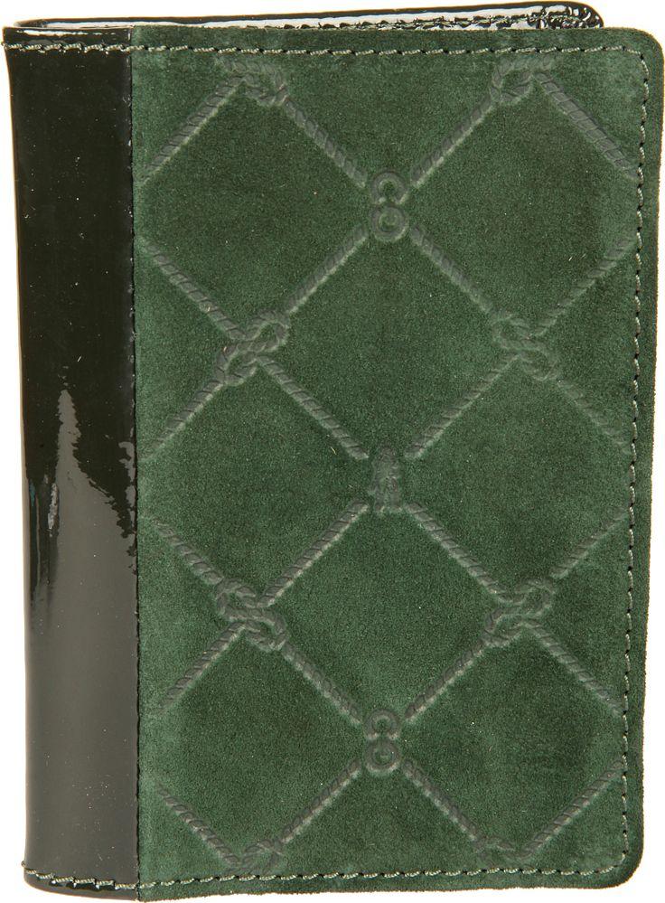 обложка для паспорта женская neri karra цвет зеленый бежевый 0140 05 06 04 Обложка для паспорта женская Gianni Conti, цвет: зеленый. 3627455