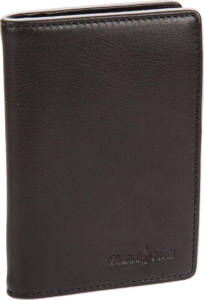 Обложка для автодокументов мужская Gianni Conti, цвет: черный. 1757456Ветерок 2ГФОбложка для автодокументов мужская Gianni Conti выполнена из натуральной кожи. Модель раскладывается пополам, внутри съемный блок прозрачных файлов для автодокументов, четыре кармана для документов, восемь кармашков для пластиковых карт, два сетчатых кармана.