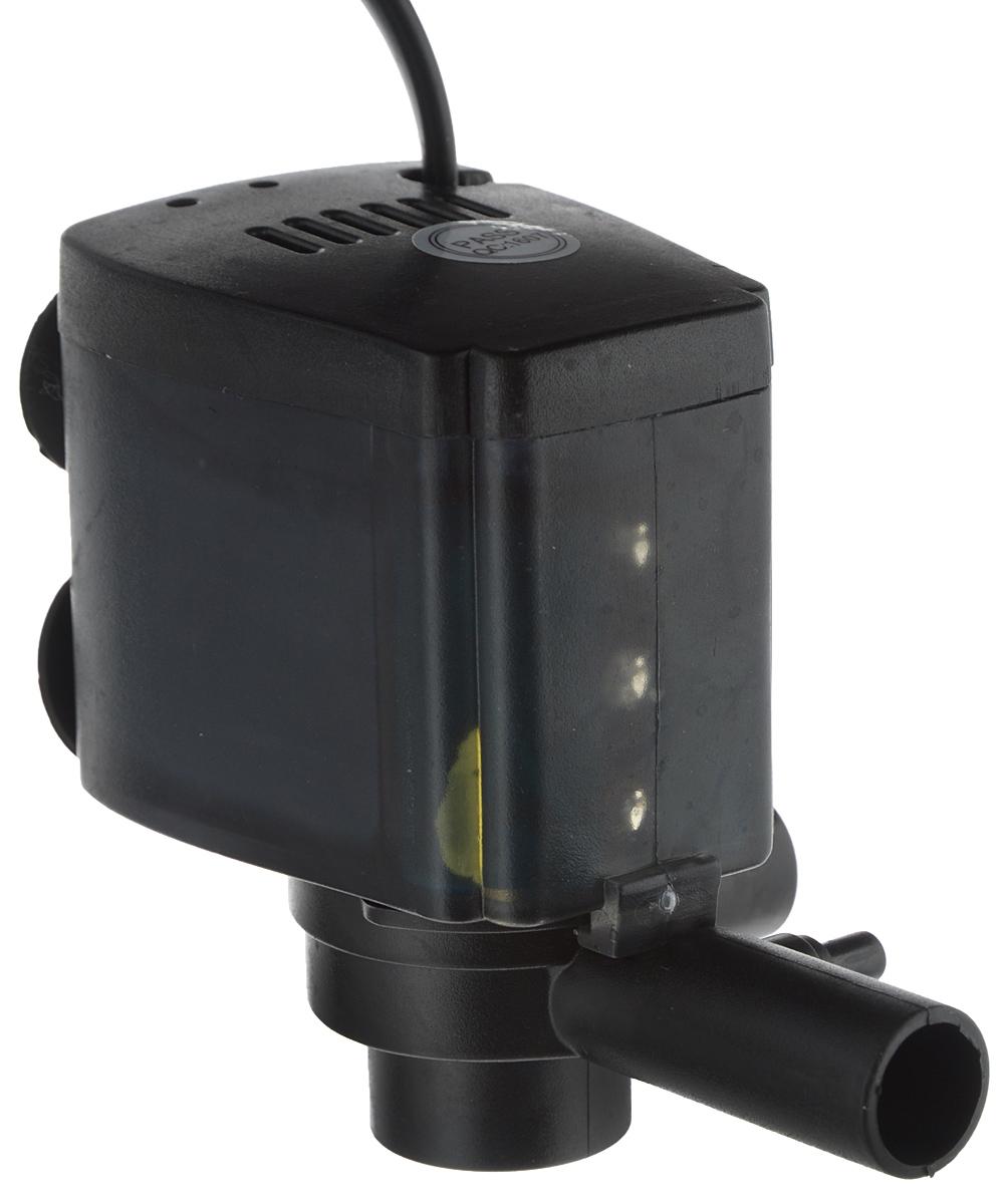 Помпа для аквариума Barbus LED-088, водяная, с индикаторами LED, 800 л/ч, 15 Вт светильник для аквариума aqualighter pico soft led гибкий корпус цвет розовый 10 л