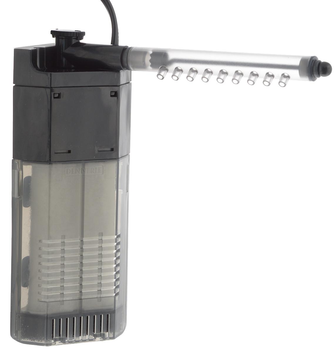 Фильтр для аквариумов Dennerle  Nano Clean Eckfilter , угловой, 150 л/ч, 2 Вт - Аксессуары для аквариумов