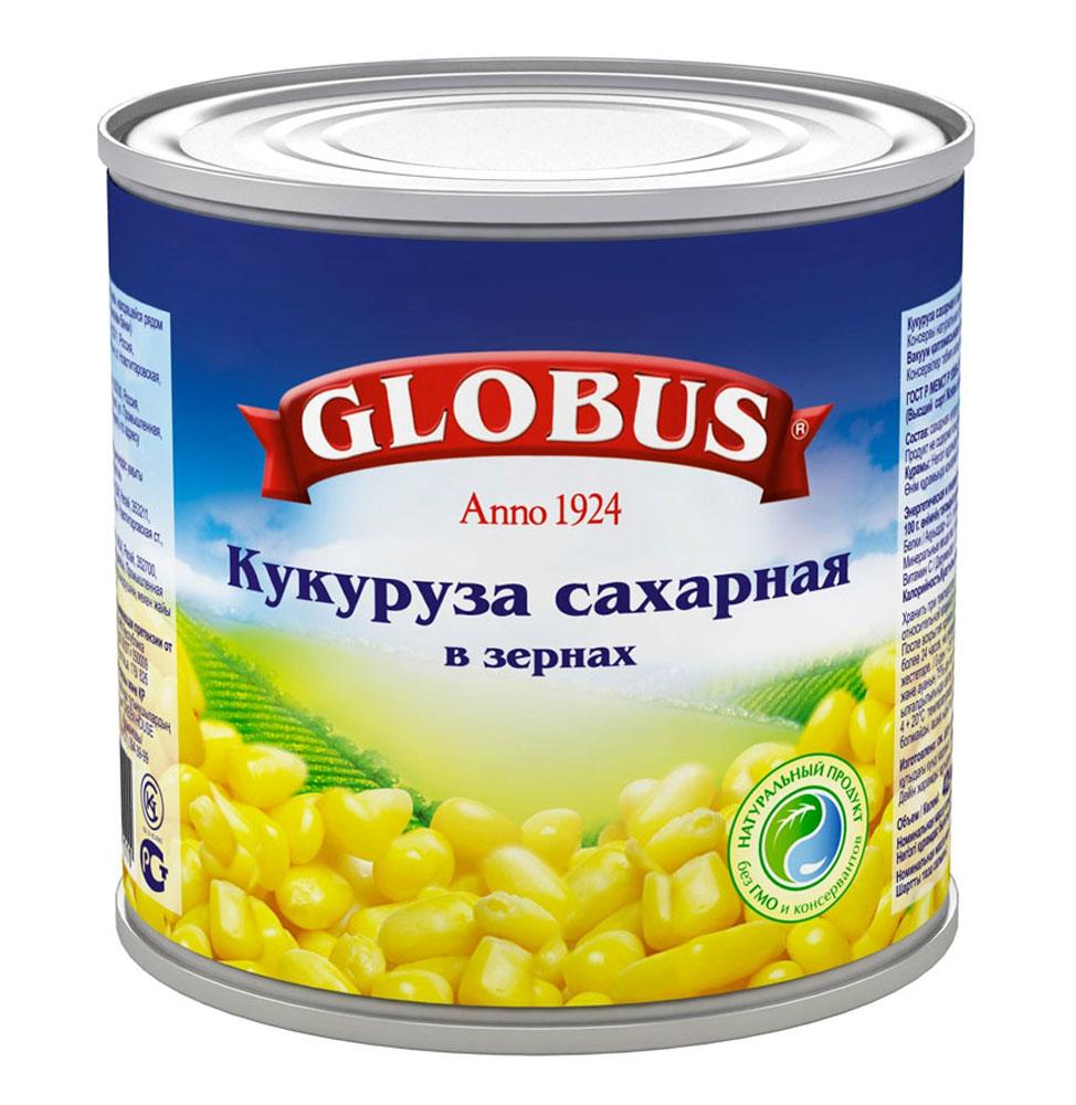 Globus кукуруза сладкая, 340 г