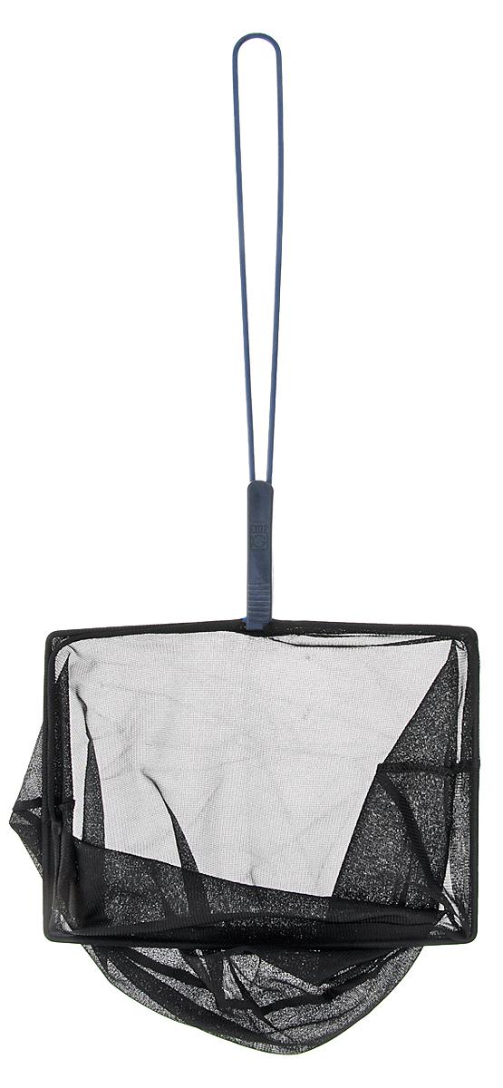 Сачок аквариумный JBL Fangnetz Premium, мелкоячеистый, 25 х 19 см0120710JСачок JBL Fangnetz Premium предназначен для легкого извлечения рыб или остатков корма из аквариума. Изделие выполнено из металла со специальным пластиковым покрытием. Сетка изготовлена из износоустойчивой нейлоновой нити. Такой сачок безопасен для рыб, устойчив к коррозии и долговечен. Можно использовать в пресной и морской воде. Размер сачка: 25 х 19 см. Длина ручки: 37 см.