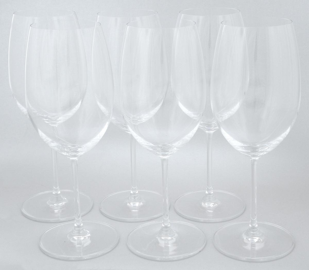 Набор бокалов Pasabahce Vintage, 600 мл, 6 штVT-1520(SR)Набор Pasabahce Vintage состоит из шести бокалов, выполненных из прочного натрий-кальций-силикатного стекла. Изделия оснащены высокими ножками. Бокалы предназначены для подачи вина. Они сочетают в себе элегантный дизайн и функциональность. Благодаря такому набору пить напитки будет еще вкуснее.Набор бокалов Pasabahce Vintage прекрасно оформит праздничный стол и создаст приятную атмосферу за романтическим ужином. Такой набор также станет хорошим подарком к любому случаю. Можно мыть в посудомоечной машине и использовать в холодильнике.Диаметр бокала по верхнему краю: 6,8 см. Высота бокала: 24 см.