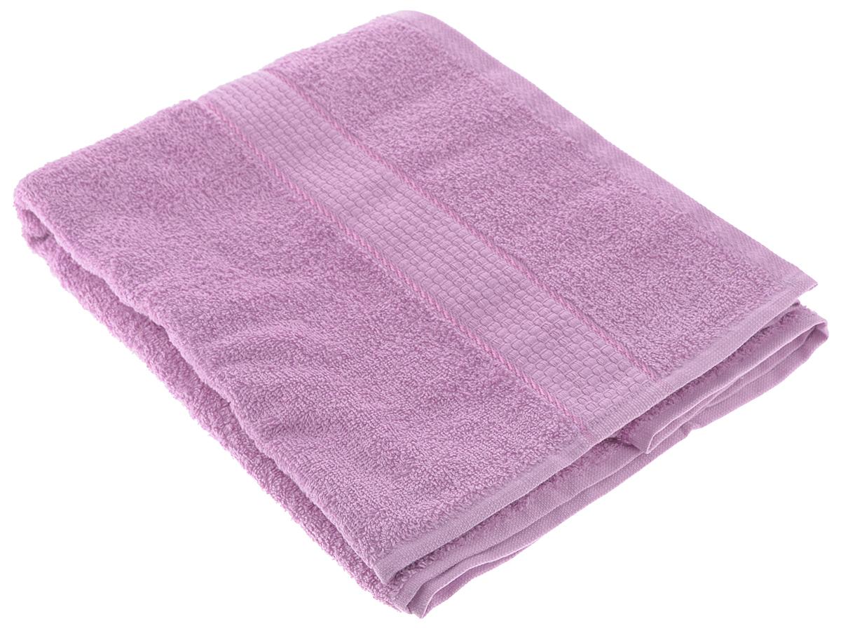 Полотенце Aisha Home Textile, цвет: сиреневый, 70 х 140 смS03301004Полотенце Aisha Home Textile выполнено из 100% хлопка. Изделие отлично впитывает влагу, быстро сохнет, сохраняет яркость цвета и не теряет форму даже после многократных стирок. Такое полотенце очень практично и неприхотливо в уходе. Оно создаст прекрасное настроение и украсит интерьер в ванной комнате. Полотенце упаковано в красивую коробку и может послужит отличной идеей подарка.