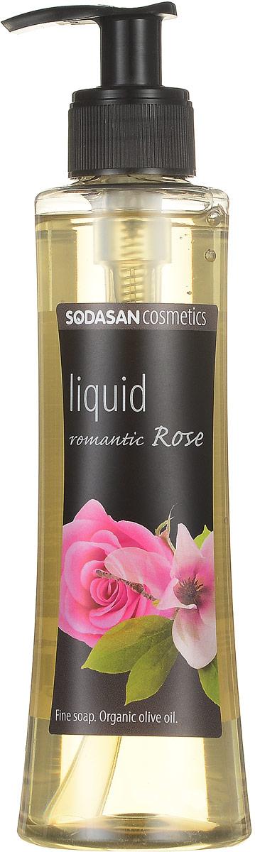 Жидкое мыло Sodasan Романтическая роза, 250 мл жидкое мыло sodasan жидкое мыло травяной сандал 250 мл