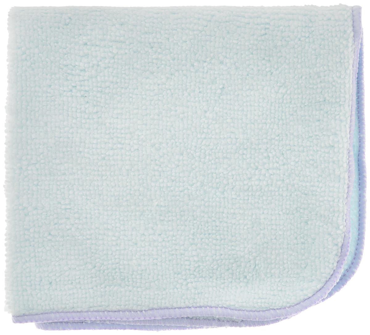 Салфетка для уборки Meule Standard, универсальная, цвет: светло-голубой, сиреневый, 25 х 25 см17105100Салфетка Meule Standard выполнена из высококачественной микрофибры (80% полиэстер, 20% полиамид). Изделие может использоваться как для сухой, так и для влажной уборки. Деликатно очищает любые виды поверхности, не оставляет следов и разводов. Идеально впитывает влагу, удаляет загрязнения и пыль, а также подходит для протирки полированной мебели. Сохраняет свои свойства после стирки.