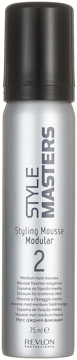 Revlon Professional SM Styling MoСШАse Modular - Мусс средней фиксации 75 млSatin Hair 7 BR730MNКаждый день у нас новое настроение, поэтому и причёски изо дня в день разные. Сегодня нам хочется лёгкой и естественной укладки, завтра – причёски с сильной фиксацией, чтобы она сохранилась безупречной в течение всего дня. Мусс переменной фиксацией Styling Mousse Modular от Revlon Professional – средство, которое подойдёт в данном случае. Больше нет необходимости покупать целый набор дополнительных продуктов для стайлинга. Мусс обеспечит любую степень фиксации. А ещё «Стайлинг Мусс Модулар» очень быстро сохнет, не оставляет следов и легко удаляется с волос простым расчёсыванием.