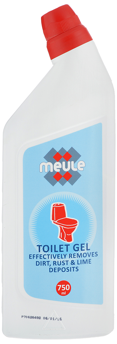 Средство чистящее для унитазов Meule, 750 мл391602Чистящее средство Meule предназначено для унитазов. Идеально удаляет известковый налет и ржавчину, дезинфицирует поверхность. Особая конфигурация флакона позволяет производить обработку в самых труднодоступных местах. Экономичен в употреблении.Объем: 750 мл. Товар сертифицирован.
