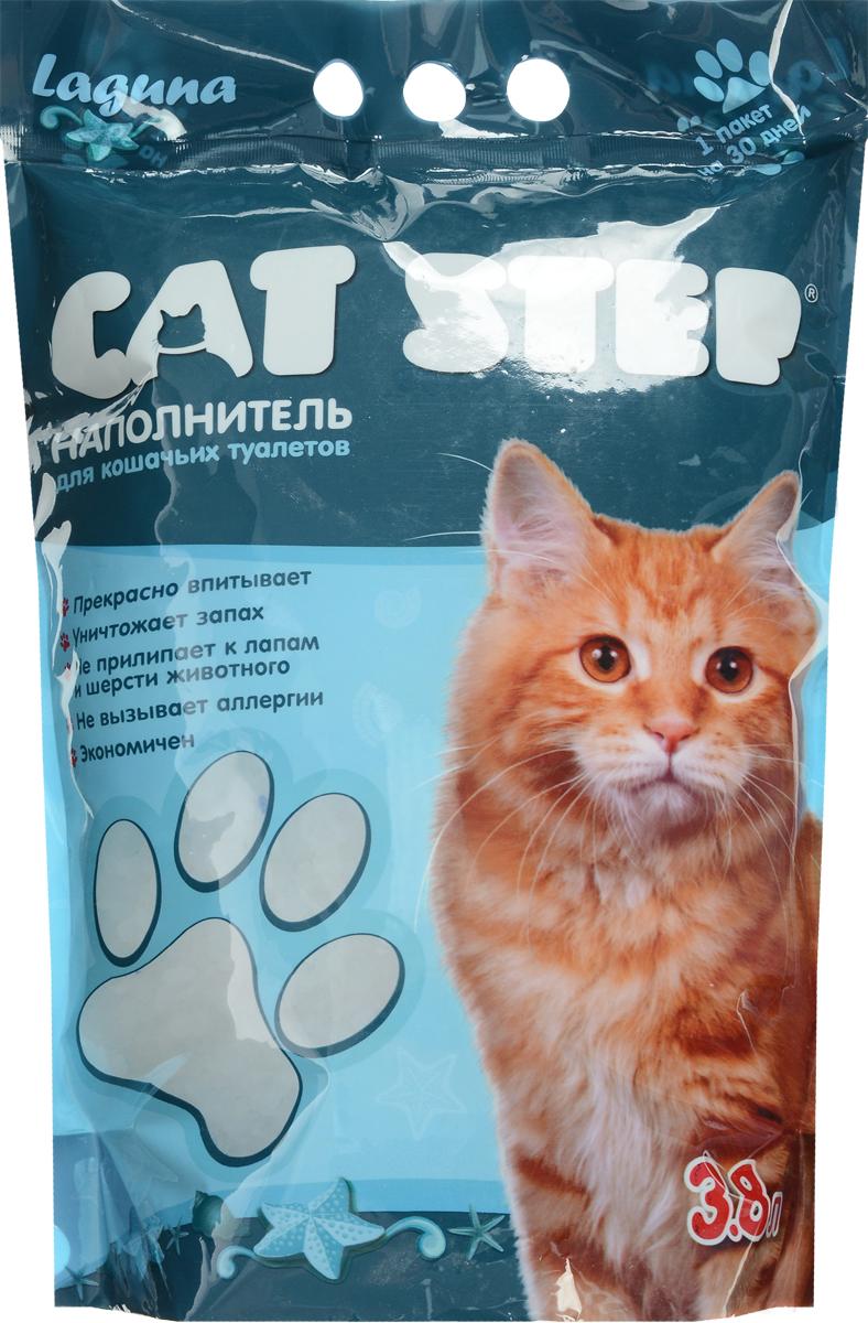 Наполнитель для кошачьих туалетов Cat Step, силикагель, лагуна, 3,8 л0120710Впитывающий наполнитель Cat Step изготовлениз силикагеля, который мгновенно впитываетжидкость и способствует уничтожению запахов.Как только влага коснется поверхности гранулсиликагеля, множество микроскопических порбуквально поглощают ее. А сами гранулысиликагеля остаются при этом сухими наповерхности и не прилипают к шерсти и лапкамкошки.Впитывающая способность наполнителя Cat Step настолько высока, что одного пакета хватает нацелый месяц!Объем: 3,8 л.