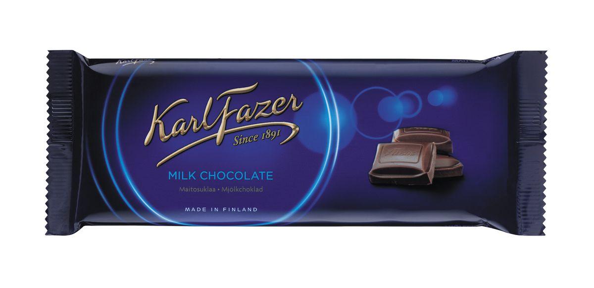 Karl Fazer Молочный шоколад, 100 г5784Молочный шоколад Karl Fazer изготовлен из свежего молока и ингредиентов самого высокого качества. Это позволяет создавать особый вкус молочного шоколада, который ценится во многих странах мира. Очень вкусное и нежное лакомство, которое понравится всей вашей семье.Уважаемые клиенты! Обращаем ваше внимание, что полный перечень состава продукта представлен на дополнительном изображении.