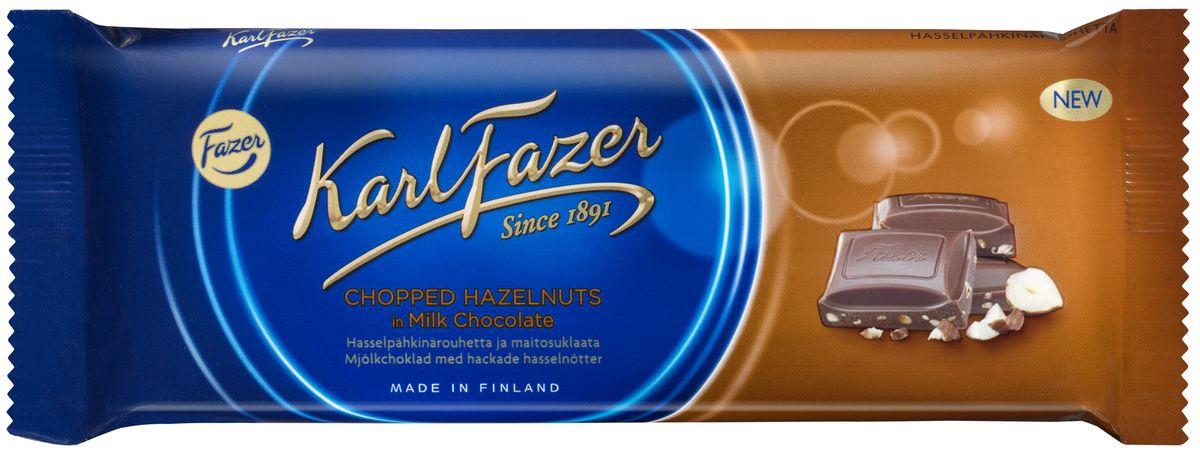Karl Fazer Молочный шоколад с тертым фундуком, 100 г79004059Молочный шоколад с тертым фундуком Karl Fazer изготавливается из свежего молока и ингредиентов самого высокого качества. Это позволяет создавать особый вкус молочного шоколада, который ценится во многих странах мира. Очень вкусное и нежное лакомство, которое понравится всей вашей семье.Уважаемые клиенты! Обращаем ваше внимание, что полный перечень состава продукта представлен на дополнительном изображении.