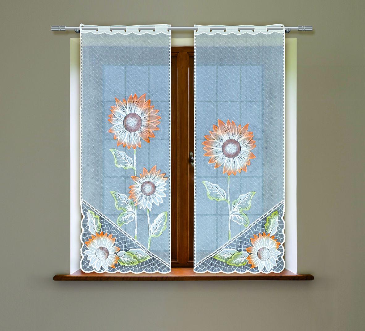 Комплект гардин Haft, на петлях, цвет: белый, высота 160 см, 2 шт. 5050С5050С/60Воздушные гардины Haft великолепно украсят любое окно. Комплект состоит из двух гардин, выполненных из полиэстера.Изделие имеет оригинальный дизайн и органично впишется в интерьер помещения.Комплект крепится на карниз при помощи петель.