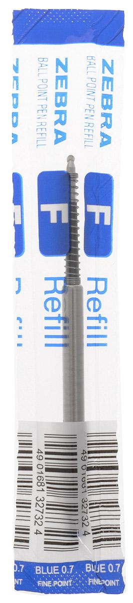 Zebra Стержень для шариковых ручек цвет синий305 226040Стержень для шариковых ручек Zebra станет незаменимыми атрибутом учебы или работы. Это отличный вариант для автоматических шариковых ручек. Поддерживаемые модели ручек: F301, F301 Ultra, F301 Compact, F701, ZEBRA 710, SLIDE, AIRFIT 500, Mini 300. Толщина пишущего узла стержня 0,7 мм.Надежный стержень строгого классического дизайна станет верным помощником для студента и офисного работника.
