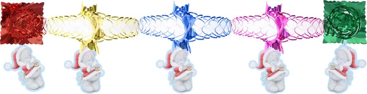 Гирлянда новогодняя Winter Wings Me To You. Мишка Тедди, с подвеской, длина 3 мDP-C30-027Новогодняя гирлянда Winter Wings Me To You. Мишка Тедди прекрасно подойдет для декора дома и праздничной елки. Украшение выполнено из ПВХ и бумаги в виде гирлянды с подвеской с изображением мишки Тедди. С помощью специальной петельки гирлянду можно повесить в любом понравившемся вам месте. Легко складывается и раскладывается.Новогодние украшения несут в себе волшебство и красоту праздника. Они помогут вам украсить дом к предстоящим праздникам и оживить интерьер по вашему вкусу. Создайте в доме атмосферу тепла, веселья и радости, украшая его всей семьей.Длина гирлянды: 3 м.