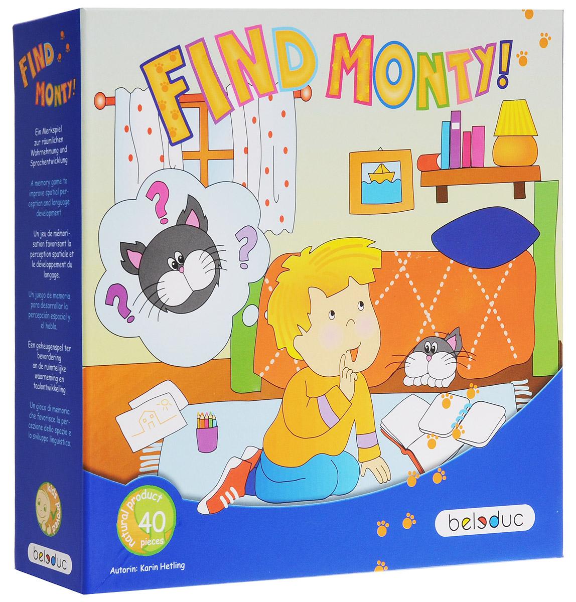 Beleduc Обучающая игра Найди кота Монти!