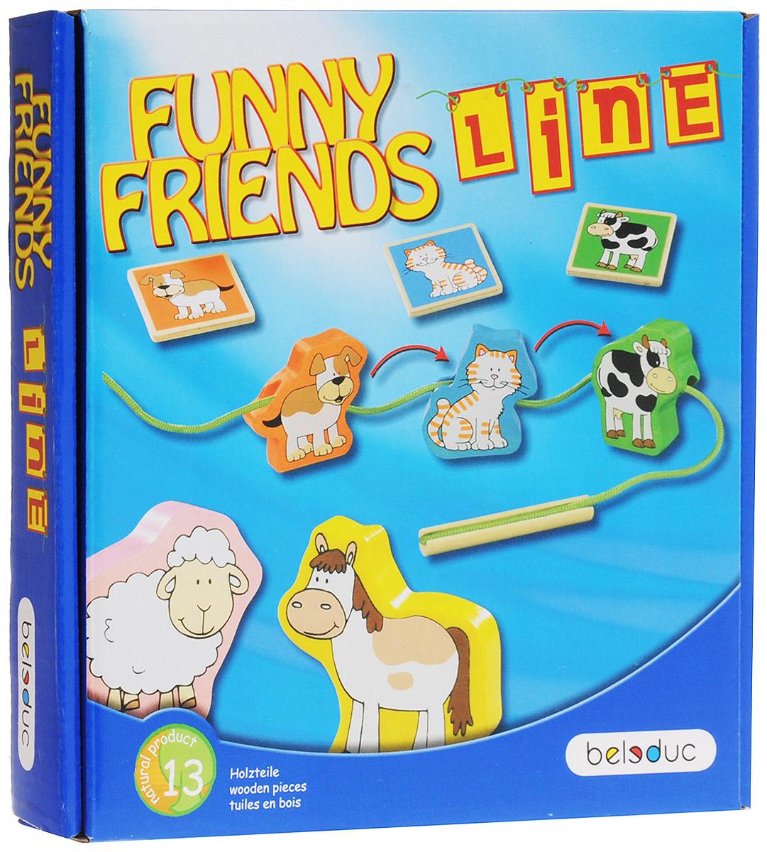 Beleduc Обучающая игра Веселые друзья Line