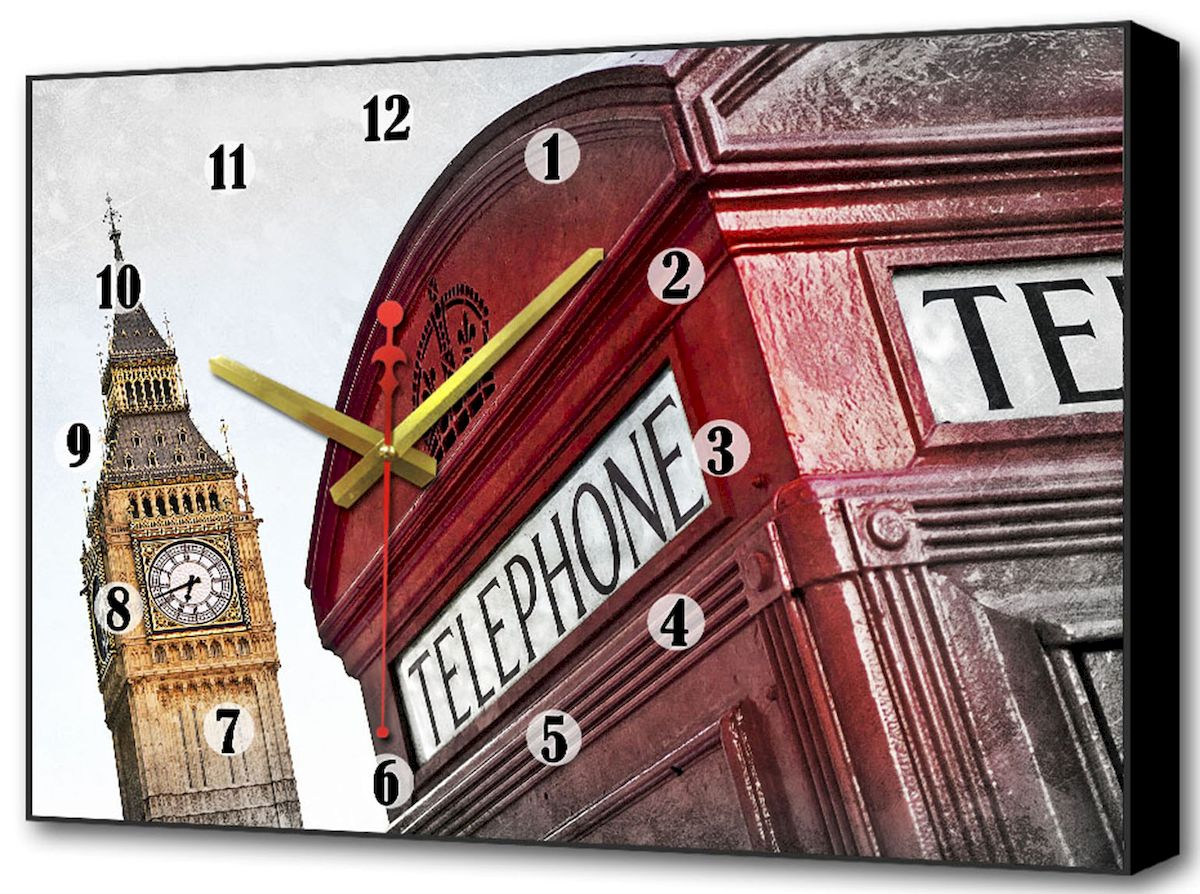 Часы-картина Toplight Город, 60 х 37 см. TL-C501094672Настенные часы-картина Toplight Город выполнены из бумаги и оргалита, рама из МДФ. Часы имеют кварцевый механизм с плавным, бесшумным ходом и три стрелки: часовую, минутную и секундную. Современные технологии и цифровая печать, используемые в производстве, делают постер устойчивым к выцветанию и обеспечивают исключительное качество произведений. Благодаря наличию необходимых креплений в комплекте установка не займет много времени.Часы-картина Toplight - это прекрасная возможность создать яркий акцент при оформлении любого помещения.Правила ухода: можно протирать сухой, мягкой тканью. Часы работают от 1 батарейки типа АА (не входит в комплект).