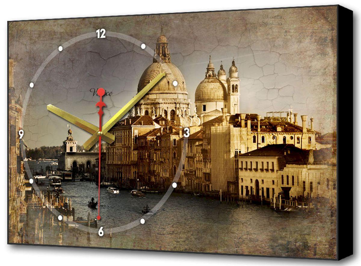 Часы-картина Toplight Классика, 60 х 37 см. TL-C5014300074_ежевикаНастенные часы-картина Toplight Классика выполнены из бумаги и оргалита, рама из МДФ. Часы имеют кварцевый механизм с плавным, бесшумным ходом и три стрелки: часовую, минутную и секундную. Современные технологии и цифровая печать, используемые в производстве, делают постер устойчивым к выцветанию и обеспечивают исключительное качество произведений. Благодаря наличию необходимых креплений в комплекте установка не займет много времени. Часы-картина Toplight - это прекрасная возможность создать яркий акцент при оформлении любого помещения.Правила ухода: можно протирать сухой, мягкой тканью. Часы работают от 1 батарейки типа АА (не входит в комплект).