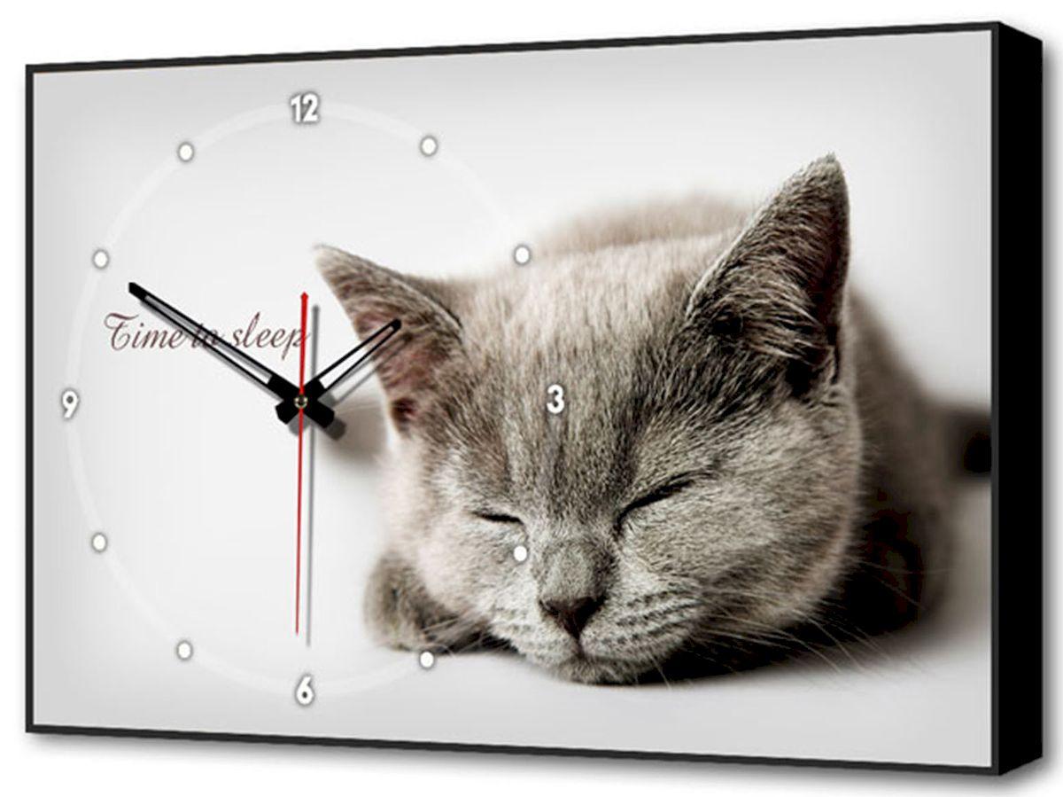 Часы-картина Toplight Животные, 60 х 37 см. TL-C50222706 (ПО)Настенные часы-картина Toplight Животные выполнены из бумаги и оргалита, рама из МДФ. Часы имеют кварцевый механизм с плавным, бесшумным ходом и три стрелки: часовую, минутную и секундную. Современные технологии и цифровая печать, используемые в производстве, делают постер устойчивым к выцветанию и обеспечивают исключительное качество произведений. Благодаря наличию необходимых креплений в комплекте установка не займет много времени. Часы-картина Toplight - это прекрасная возможность создать яркий акцент при оформлении любого помещения.Правила ухода: можно протирать сухой, мягкой тканью. Часы работают от 1 батарейки типа АА (не входит в комплект).