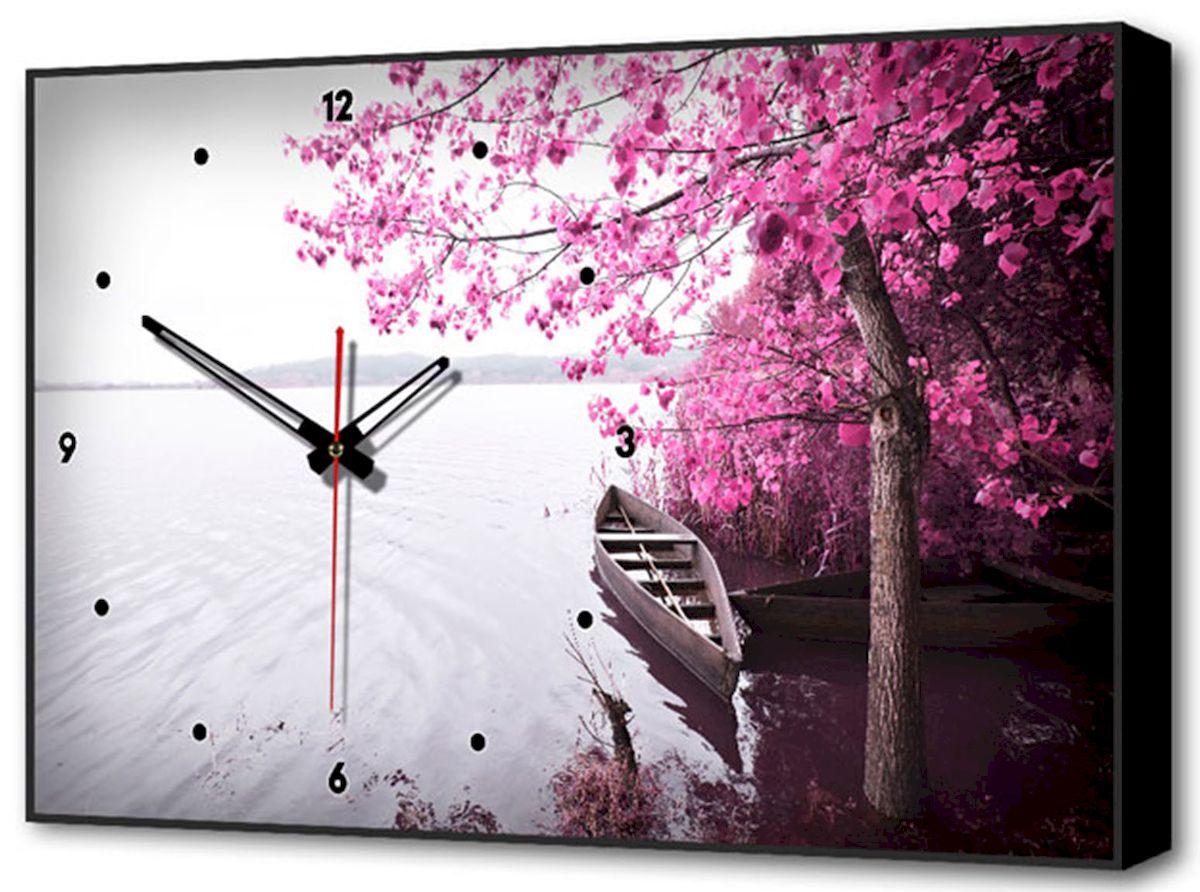 Часы-картина Toplight Пейзаж, 60 х 37 см. TL-C502596884Настенные часы-картина Toplight Пейзаж выполнены из бумаги и оргалита, рама из МДФ. Часы имеют кварцевый механизм с плавным, бесшумным ходом и три стрелки: часовую, минутную и секундную. Современные технологии и цифровая печать, используемые в производстве, делают постер устойчивым к выцветанию и обеспечивают исключительное качество произведений. Благодаря наличию необходимых креплений в комплекте установка не займет много времени. Часы-картина Toplight - это прекрасная возможность создать яркий акцент при оформлении любого помещения.Правила ухода: можно протирать сухой, мягкой тканью. Часы работают от 1 батарейки типа АА (не входит в комплект).
