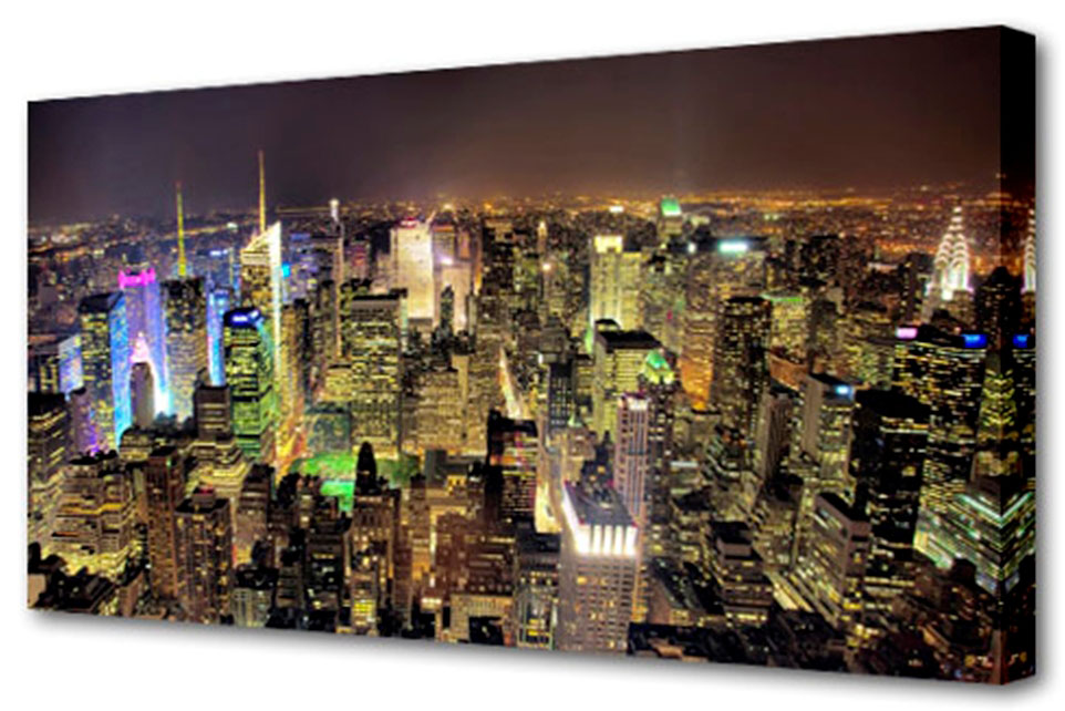 Холст Toplight Город, 100 х 50 см. TL-H3007TL-H3007Холст Toplight Город выполнен из синтетического полотна, подрамник из МДФ. Изделие выглядит очень аккуратно и эстетично благодаря такому способу оформления как галерейная натяжка. Подрамник исключает провисание полотна. Современные технологии, уникальное оборудование и цифровая печать, используемые в производстве, делают постер устойчивым к выцветанию и обеспечивают исключительное качество произведений. Благодаря наличию необходимых креплений в комплекте установка не займет много времени. Холст Topligh - это прекрасная возможность создать яркий акцент при оформлении любого помещения. Правила ухода: можно протирать сухой, мягкой тканью. Толщина подрамника: 3 см.