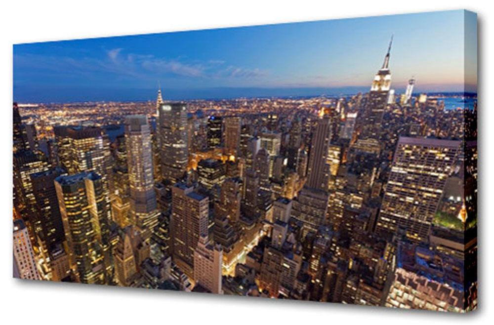 Холст Toplight Город, 100 х 50 см. TL-H3022ES-412Холст Toplight Город выполнен из синтетического полотна, подрамник из МДФ. Изделие выглядит очень аккуратно и эстетично благодаря такому способу оформления как галерейная натяжка. Подрамник исключает провисание полотна. Современные технологии, уникальное оборудование и цифровая печать, используемые в производстве, делают постер устойчивым к выцветанию и обеспечивают исключительное качество произведений. Благодаря наличию необходимых креплений в комплекте установка не займет много времени. Холст Topligh - это прекрасная возможность создать яркий акцент при оформлении любого помещения. Правила ухода: можно протирать сухой, мягкой тканью. Толщина подрамника: 3 см.