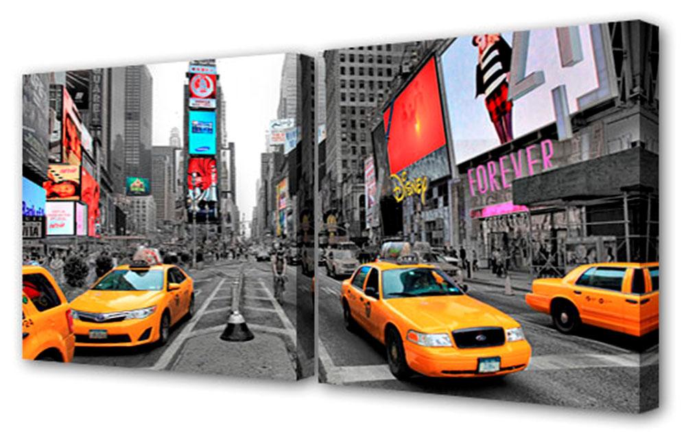 Картина модульная Toplight Город, 100 х 50 см. TL-M204916051Модульная картина Toplight Город выполнена из синтетического полотна, подрамник из МДФ. Картина состоит из двух частей и выглядит очень аккуратно и эстетично благодаря такому способу оформления как галерейная натяжка. Подрамник исключает провисание полотна. Современные технологии, уникальное оборудование и цифровая печать, используемые в производстве, делают постер устойчивым к выцветанию и обеспечивают исключительное качество произведений. Благодаря наличию необходимых креплений в комплекте установка не займет много времени. Модульная картина - это прекрасная возможность создать яркий акцент при оформлении любого помещения. Изделие обязательно привлечет внимание и подарит немало приятных впечатлений своим обладателям. Правила ухода: можно протирать сухой, мягкой тканью. Рекомендованное расстояние между сегментами: 2 см. Толщина подрамника: 3 см.