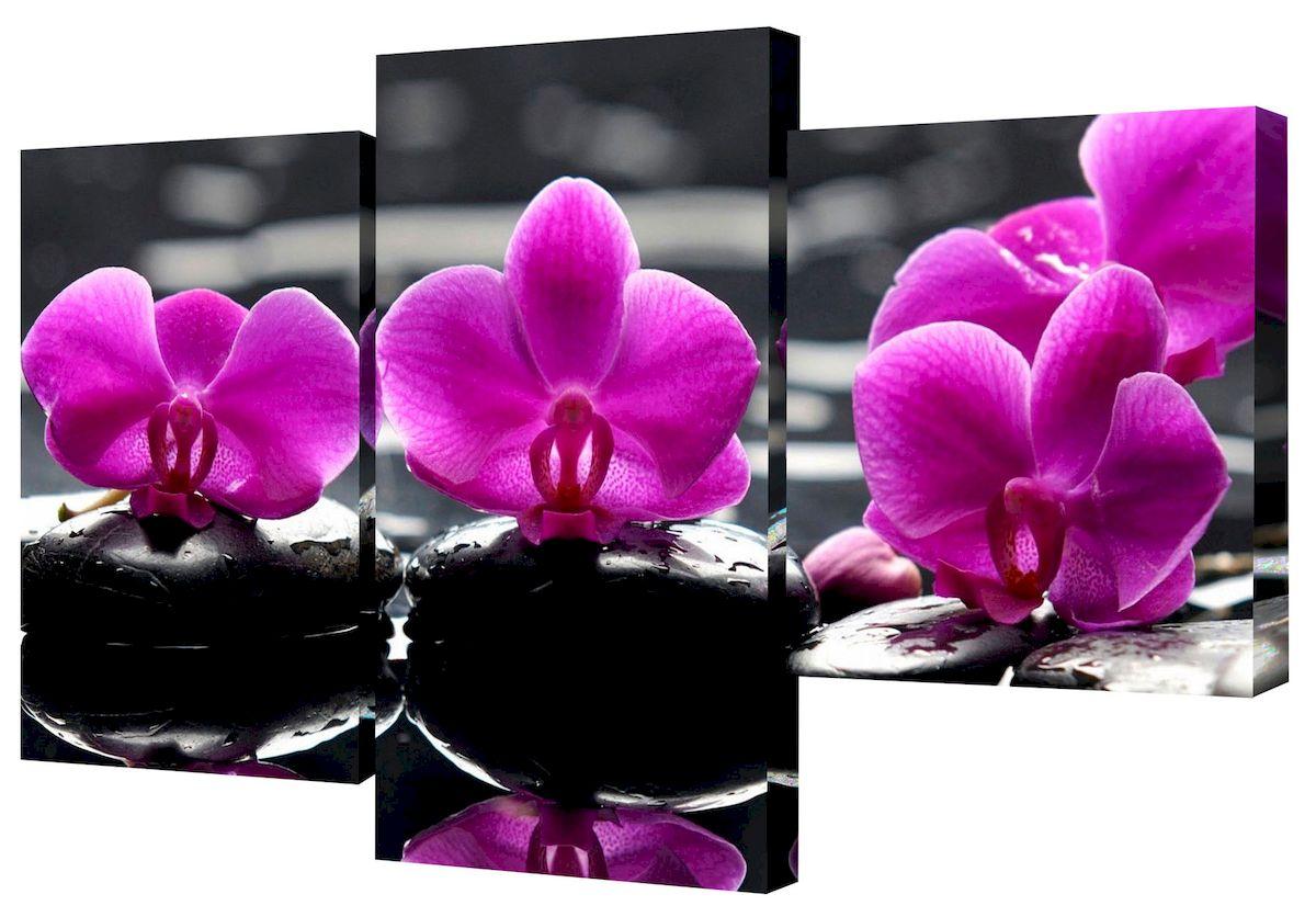 Картина модульная Toplight Цветы, 50 х 78 см. TL-MM1038WM-23Модульная картина Toplight Цветы выполнена из синтетического полотна, подрамник из МДФ. Картина состоит из трех частей и выглядит очень аккуратно и эстетично благодаря такому способу оформления как галерейная натяжка. Подрамник исключает провисание полотна. Современные технологии, уникальное оборудование и цифровая печать, используемые в производстве, делают постер устойчивым к выцветанию и обеспечивают исключительное качество произведений. Благодаря наличию необходимых креплений в комплекте установка не займет много времени. Модульная картина - это прекрасная возможность создать яркий акцент при оформлении любого помещения. Изделие обязательно привлечет внимание и подарит немало приятных впечатлений своим обладателям. Правила ухода: можно протирать сухой, мягкой тканью. Размеры модулей: 26 х 31 см, 26 х 50 см, 26 х 40 см.Рекомендованное расстояние между сегментами: 1 см. Толщина подрамника: 2 см.