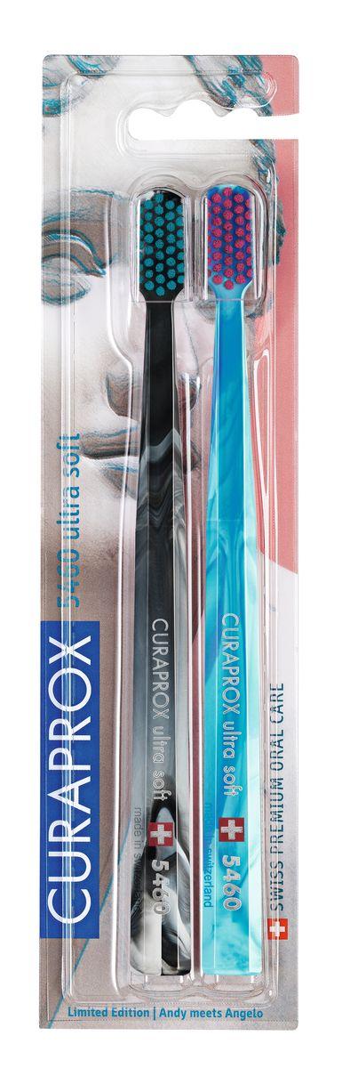 Curaprox CS 5460/2 Duo Michelangelo Набор зубных щеток ultrasoft, d 0,10 мм (2 шт.)Satin Hair 7 BR730MNЩетки предназначены для ежедневного очищения зубов. Каждая щетка содержит 5460 мягких активных щетинок (диаметр 0,10мм) и обеспечивает качественное и нетравматичное удаление зубного налета.