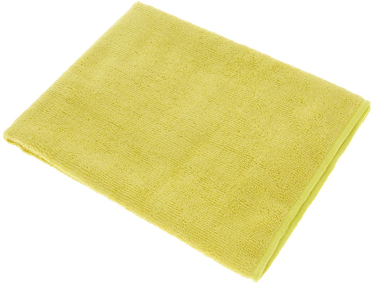 Тряпка-салфетка для пола Meule Premium, цвет: горчичный, 50 х 70 см234100Тряпка-салфетка Meule Premium выполнена из высококачественной микрофибры (80% полиэстер, 20% полиамид). Мягкая тряпка-салфетка очень большой плотности и большого размера, с хорошо выраженными ворсинками, предназначена для мытья любых типов полов. Идеально впитывает влагу, полирует поверхность, удаляет загрязнения и пыль. Легко стирается и долговечна в использовании.