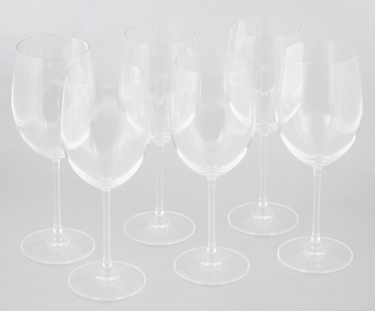 Набор бокалов для вина Pasabahce Vintage, 430 мл, 6 штVT-1520(SR)Набор Pasabahce Vintage, выполненный из бессвинцового стекла, состоит из шести бокалов. Изделия предназначены для подачи вина. Они сочетают в себе элегантный дизайн и функциональность.Набор бокалов Pasabahce Vintage прекрасно оформит праздничный стол и создаст приятную атмосферу за романтическим ужином. Такой набор также станет хорошим подарком к любому случаю. Можно мыть в посудомоечной машине.Диаметр бокала (по верхнему краю): 7 см. Высота бокала: 22 см.
